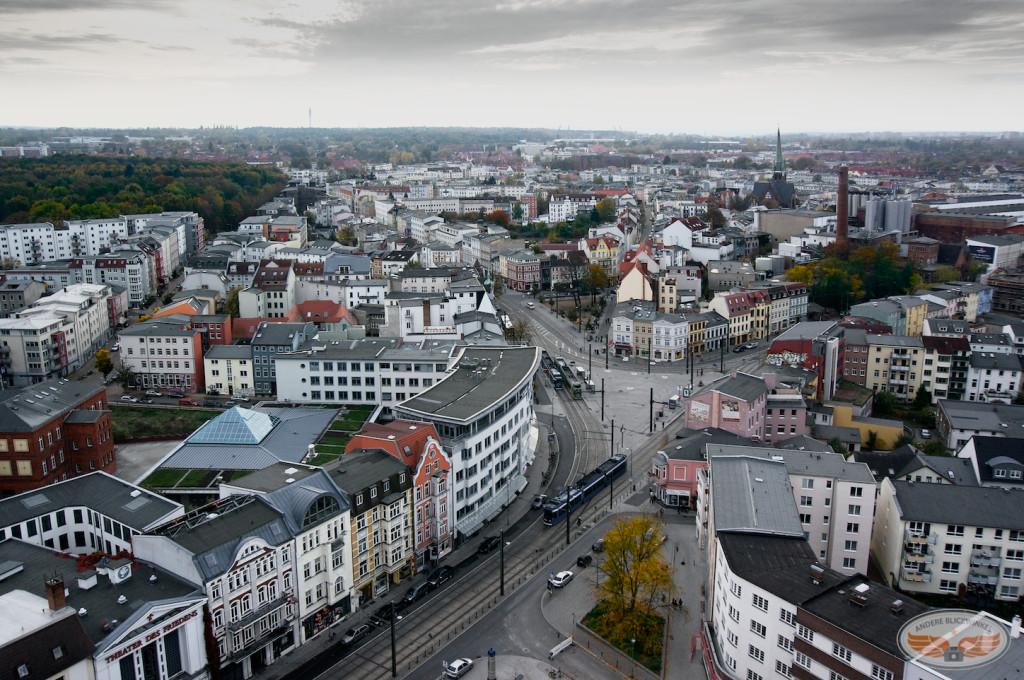 Luftaufnahme Doberaner Platz