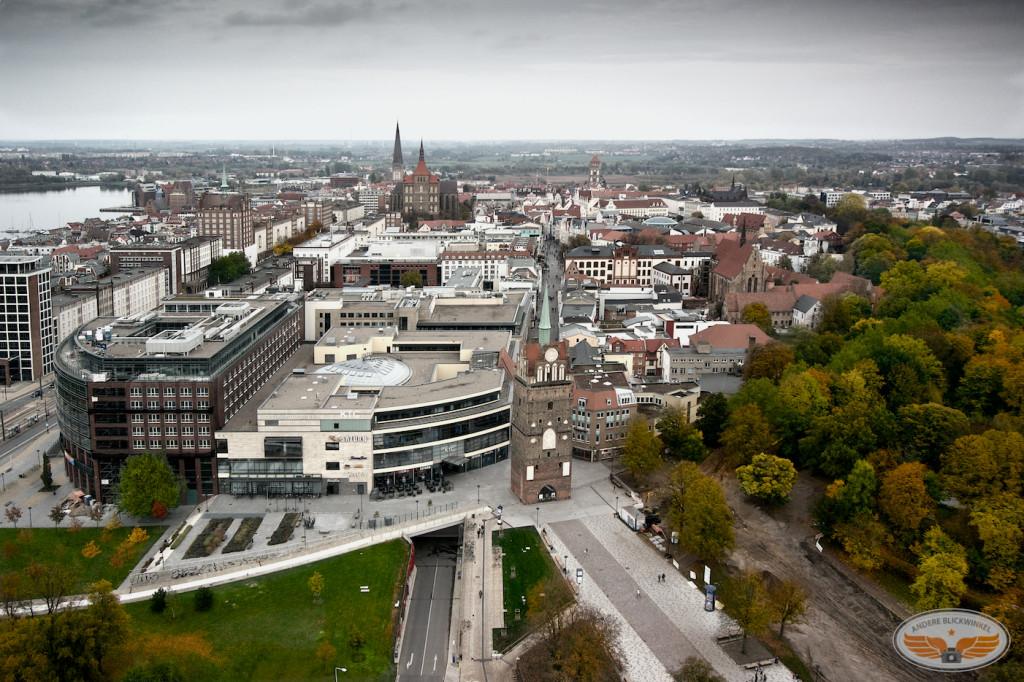 Luftaufnahme Rostock City