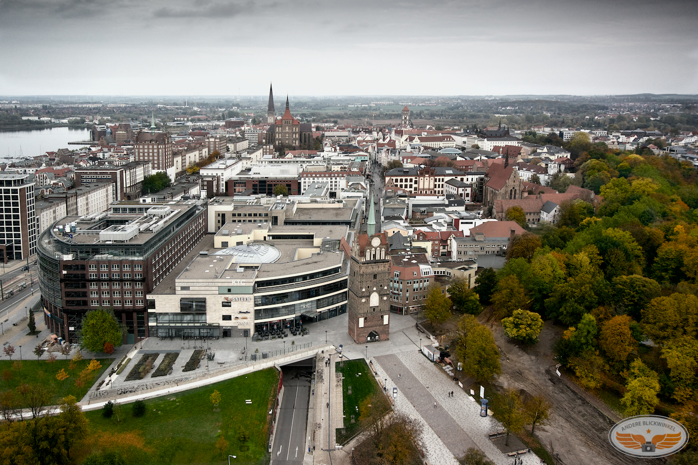 Luftbilder Rostock