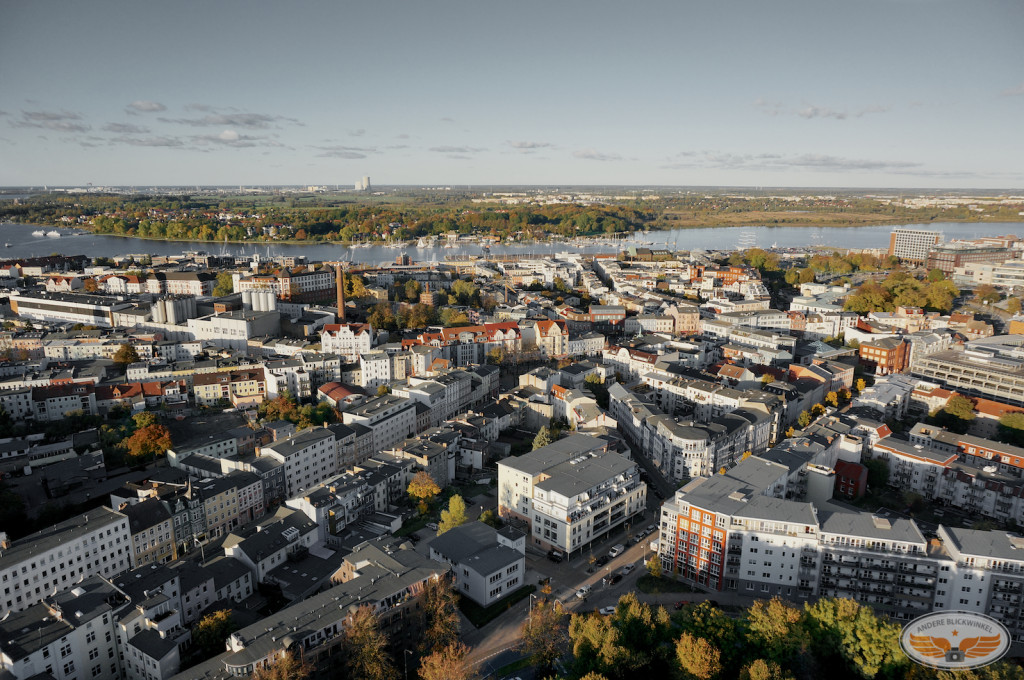 Luftaufnahme Rostock