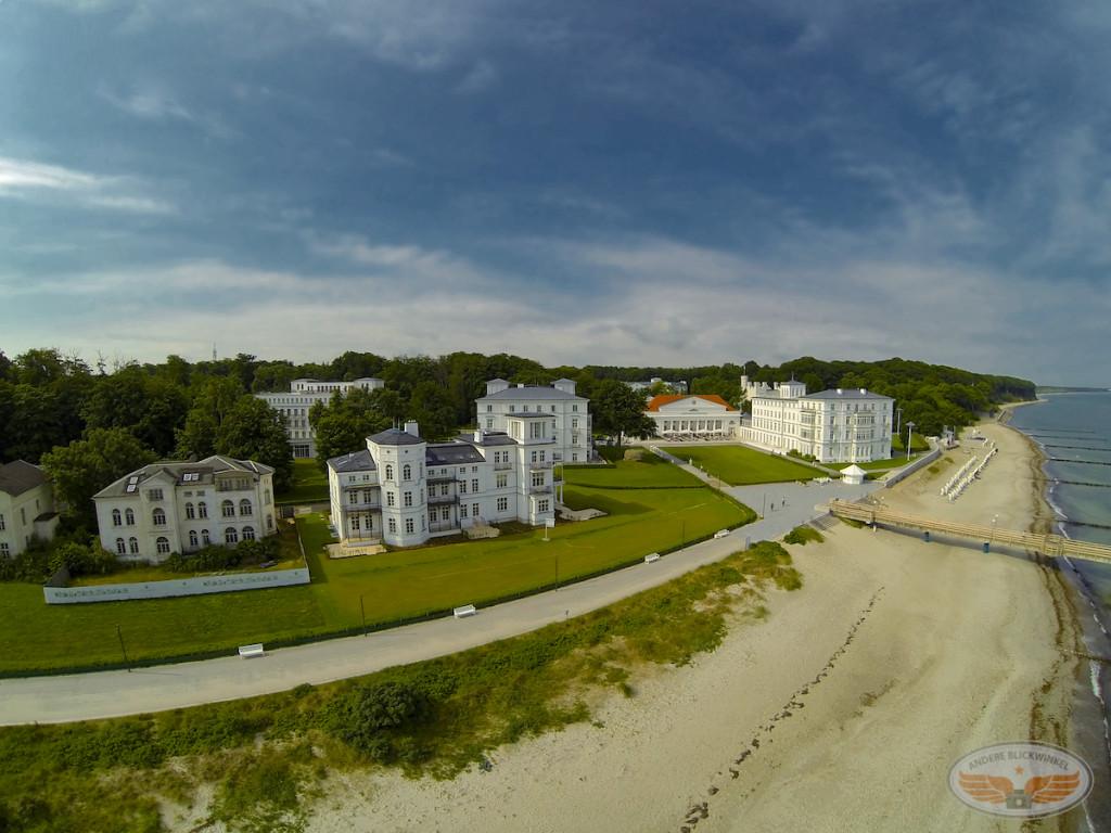Heiligendamm Blick auf Grand Hotel