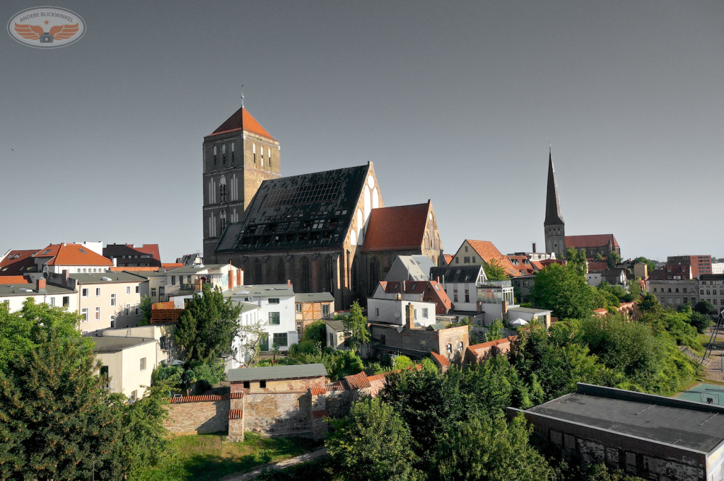 Blick auf die Nikolai Kirche