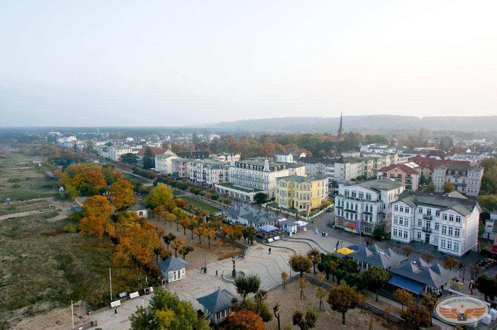 Usedom | Blick auf das Seebad Ahlbeck